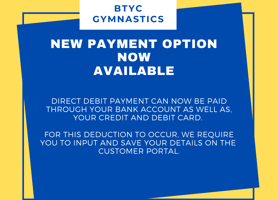 New Payment Method available for All Members