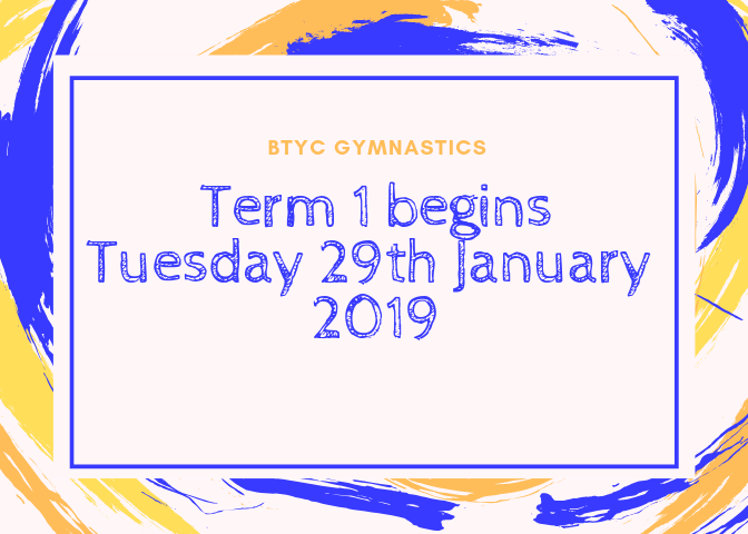 Welcome to BTYC for 2019