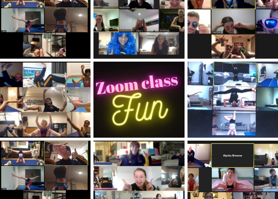 Online zoom classes NOW available. Don't miss out on all the fun!